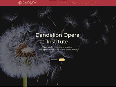 dandelion opera institute